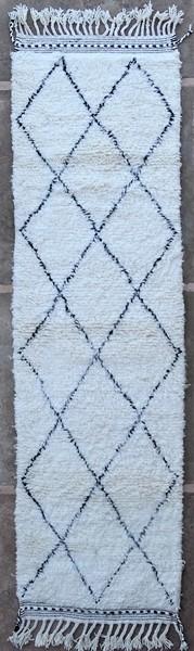 BENI OURAIN-WOOL RUGS Hallway runner wool rugs moroccan rugs BO51270