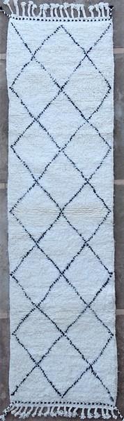 BENI OURAIN-WOOL RUGS Hallway runner wool rugs moroccan rugs BO51269