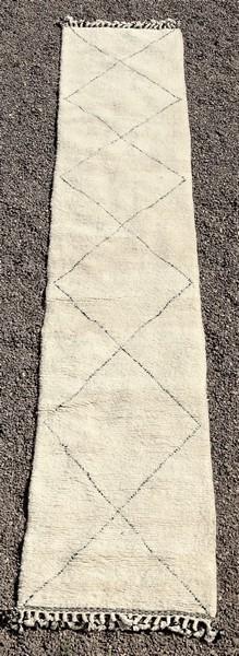 BENI OURAIN-WOOL RUGS Hallway runner wool rugs moroccan rugs BO51281
