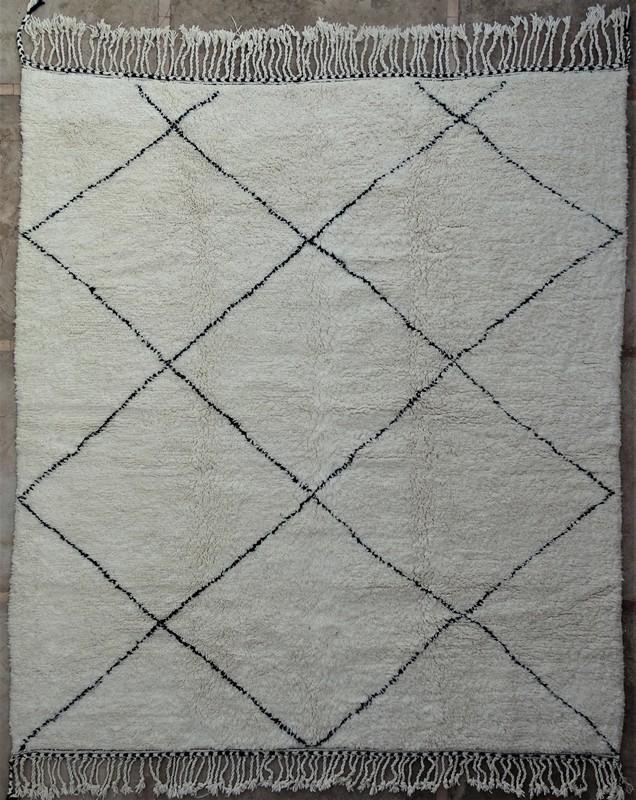 BENI OURAIN-WOLLTEPPICHE Beni Ourain Berber Teppich BO52028
