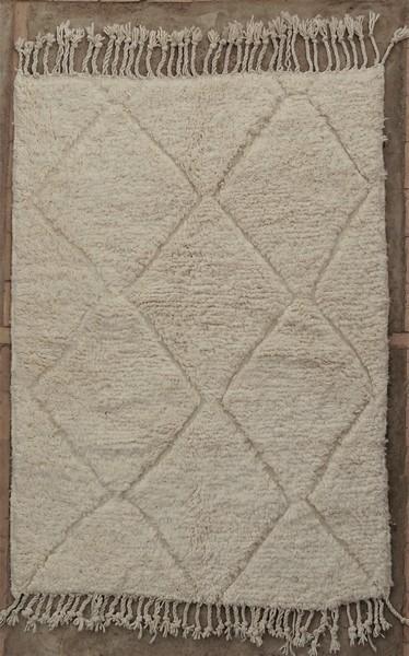 BENI OURAIN-WOLLTEPPICHE Beni Ourain Berber Teppich BO52035
