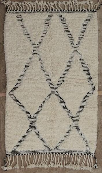 BENI OURAIN-WOLLTEPPICHE Beni Ourain Berber Teppich BO52030