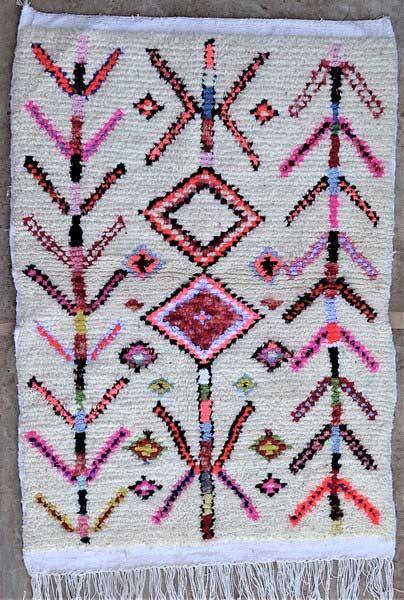 BOUCHEROUITE-KILIMS Boucherouite Small moroccan rugs TTN52063