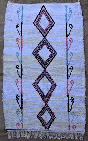 BOUCHEROUITE-KILIMS Boucherouite Grosse Berber Teppich LN52065