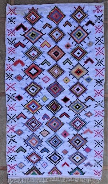 BOUCHEROUITE-KILIMS Boucherouite Large moroccan rugs LN52066