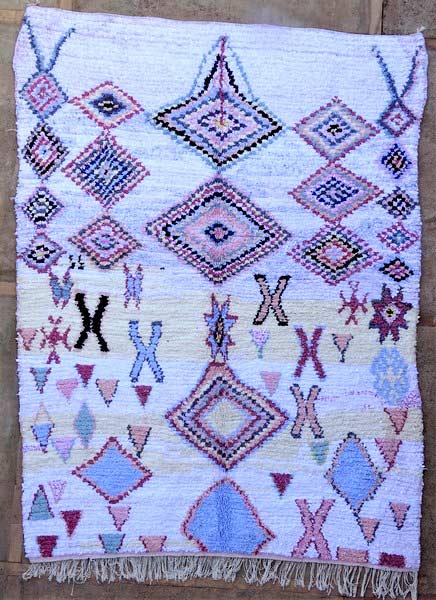 BOUCHEROUITE-KILIMS Boucherouite Large moroccan rugs LN52073