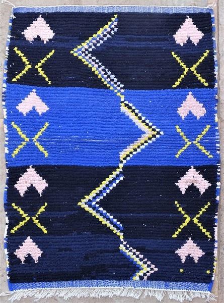 BOUCHEROUITE-KILIMS Boucherouite Small moroccan rugs TTN52074