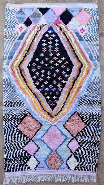 BOUCHEROUITE-KILIMS Boucherouite Large moroccan rugs LN52078