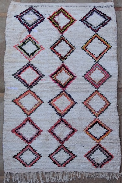 BOUCHEROUITE-KILIMS Boucherouite Medium moroccan rugs TN52082