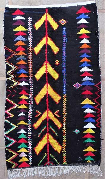 BOUCHEROUITE-KILIMS Boucherouite Large moroccan rugs LN52085