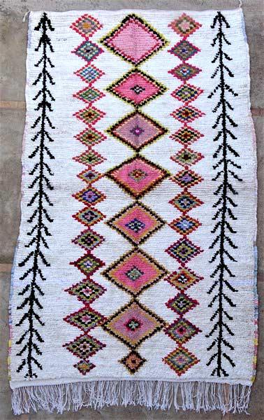 BOUCHEROUITE-KILIMS Boucherouite Large moroccan rugs LN52083