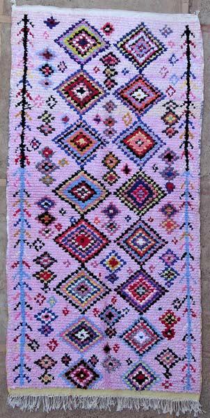 BOUCHEROUITE-KILIMS Boucherouite Large moroccan rugs LN52084