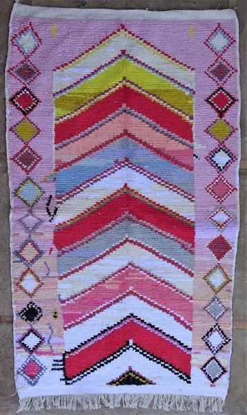 BOUCHEROUITE-KILIMS Boucherouite Large moroccan rugs LN52088