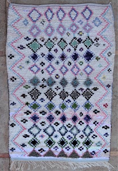 BOUCHEROUITE-KILIMS Boucherouite Medium moroccan rugs TN52090