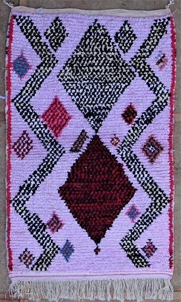 BOUCHEROUITE-KILIMS Boucherouite Small moroccan rugs TTN52112