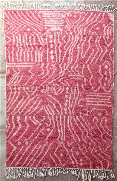 BENI OURAIN-WOOL RUGS Beni Ourain moroccan rugs BO52118