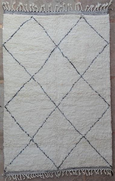 Tapis de salon berbère #BO52117 de type tapis Beni Ouarain