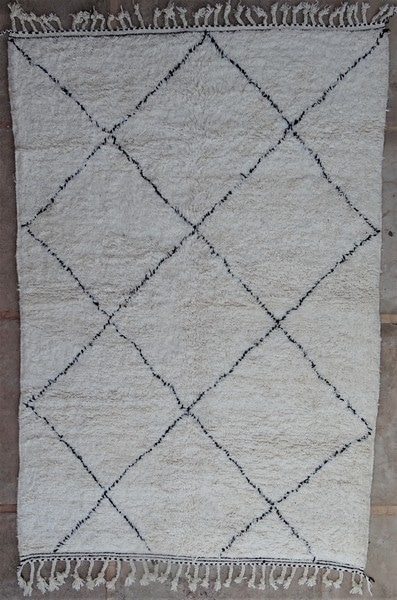 BENI OURAIN-WOLLTEPPICHE Beni Ourain Berber Teppich BO52121