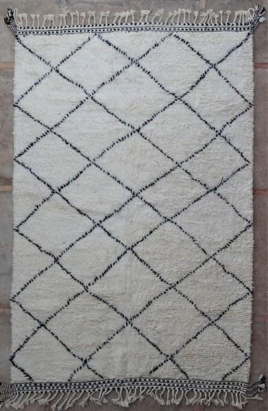 BENI OURAIN-WOOL RUGS Beni Ourain moroccan rugs BO52128