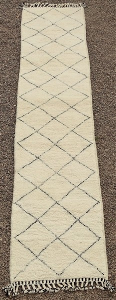 BENI OURAIN-WOOL RUGS Beni Ourain Large sizes moroccan rugs BO52129
