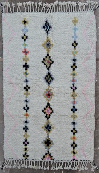 BENI OURAIN-WOOL RUGS Beni Ourain moroccan rugs BO52132