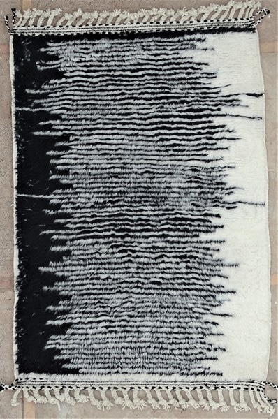 BENI OURAIN-WOOL RUGS Beni Ourain moroccan rugs BO52138