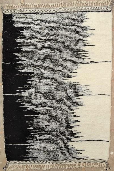 BENI OURAIN-WOOL RUGS Beni Ourain moroccan rugs BO52143