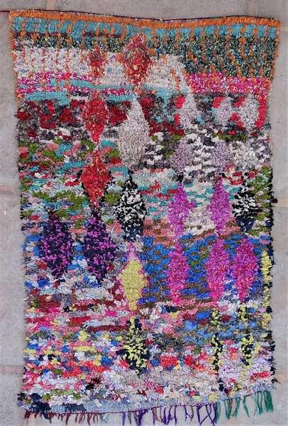 Tapis berbère #LC53028 de type tapis Boucharouette Grands