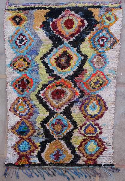 Tapis berbère #LC53031 de type tapis Boucharouette Grands