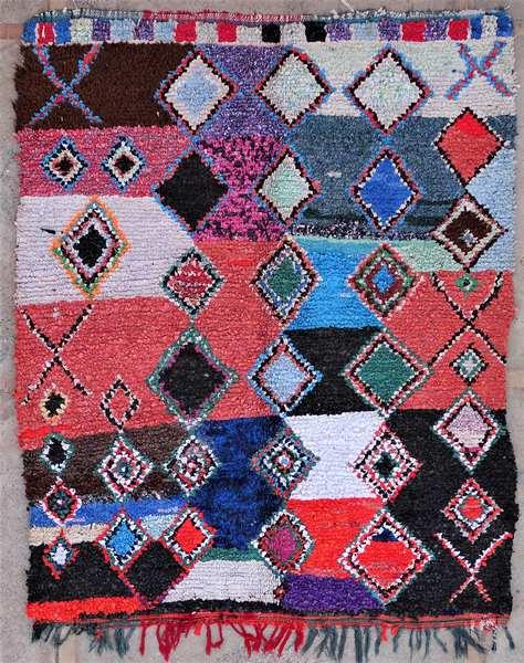 Berber rug #T53035 type Boucherouite Medium