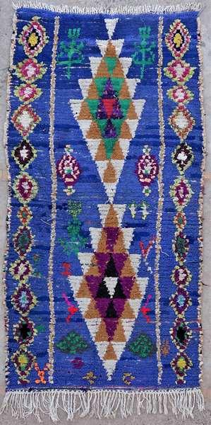 Tapis berbère #TT53038 de type tapis Boucharouette Petits