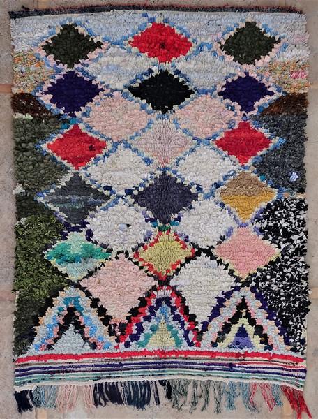 Berber rug #T53042 type Boucherouite Medium