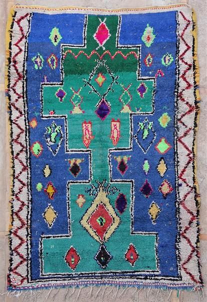 Berber rug #T53041 type Boucherouite Medium
