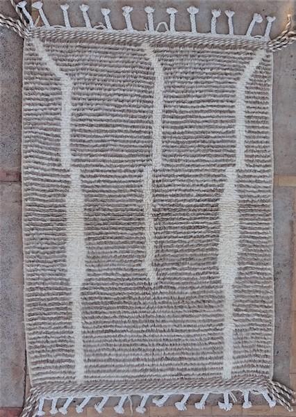 Berber rug #BO53067 - MODERN RUGS