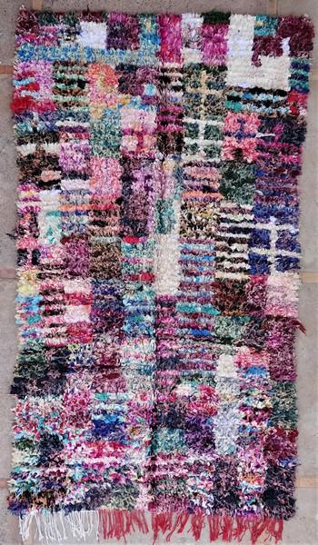 Berber rug #LNC53073 type Boucherouite Large