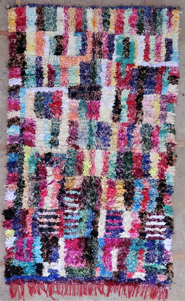 Berber rug #LNC53075 type Boucherouite Large