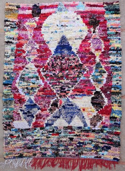 Berber living room rug #LNC53078 type Boucherouite Large