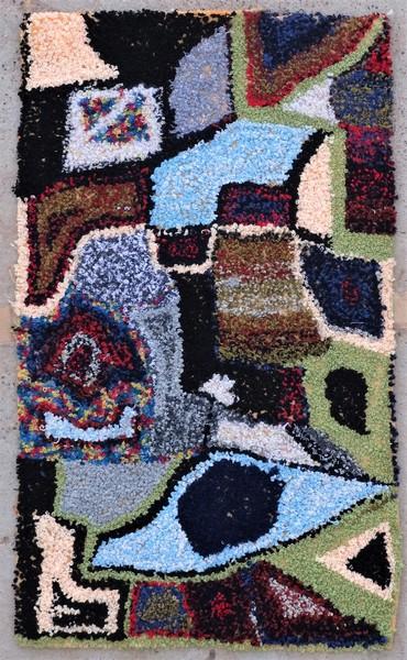 Berber rug #ZK53089 Zindek type Boucherouite Small
