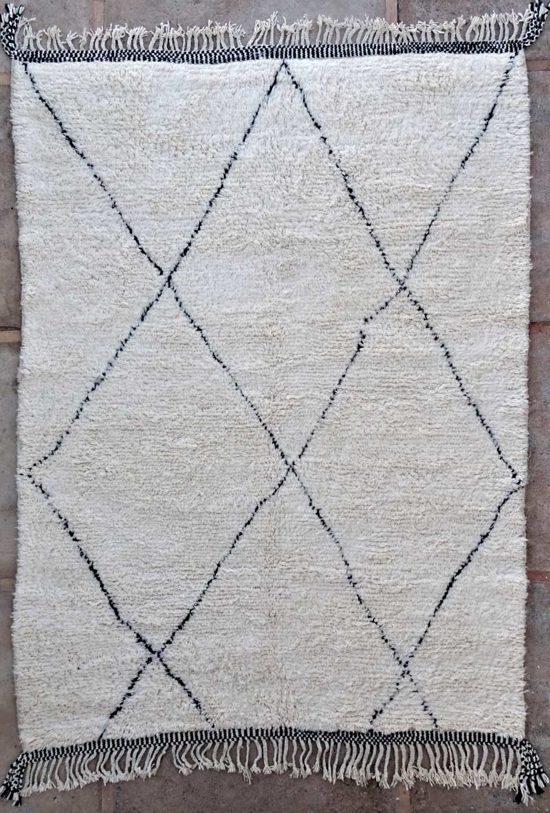 Berber living room rug #BO53106 type Beni Ourain