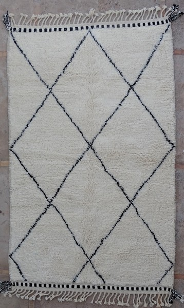 Berber living room rug #BO53116 type Beni Ourain