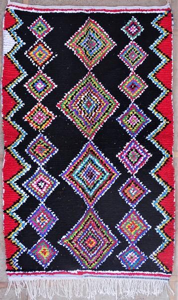 Berber rug #LN53139 type Boucherouite Large