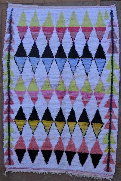 Berber rug #TN53140 type Boucherouite Medium