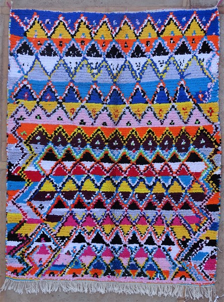 Berber rug #TN53150 type Boucherouite Medium