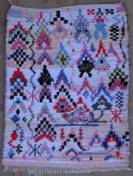 Berber rug #TTN53151 type Boucherouite Small