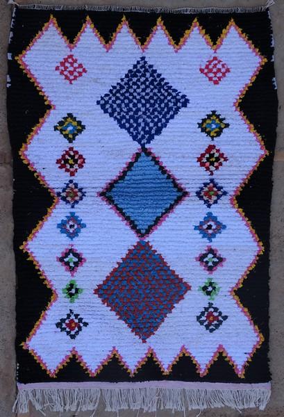 Berber rug #TTN53152 type Boucherouite Small