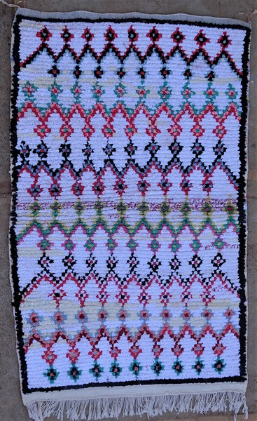 Berber rug #TN53154 type Boucherouite Medium