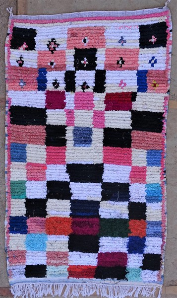Berber rug #TTN53157 type Boucherouite Small