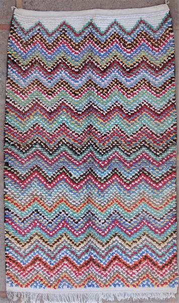 Berber rug #LN53131 type Boucherouite Large