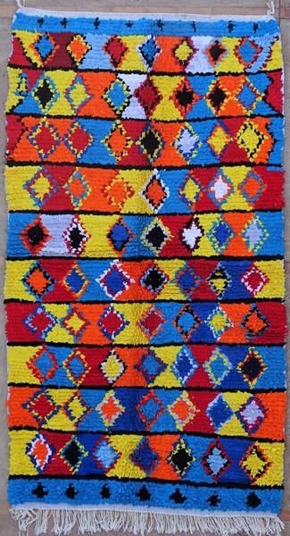 Berber rug #TN53132 type Boucherouite Medium