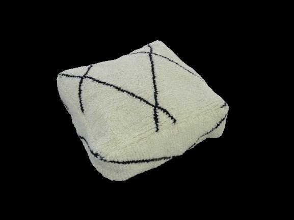 Kissen-Decken-Bettdecken-Poufs Poufs und Kissen aus Beni Ourain Teppich PBOC  beni ourain pouf cover